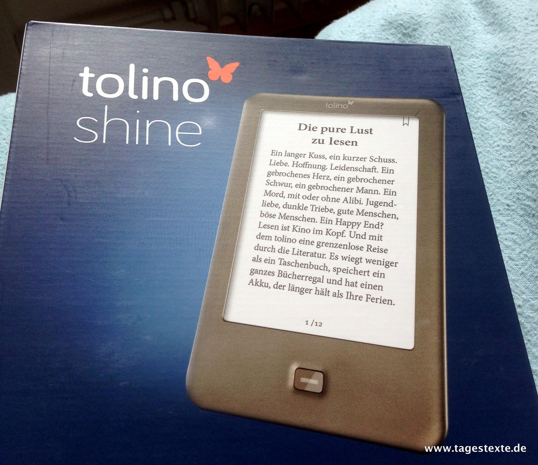 tolino shine von Weltbild und Hugendubel