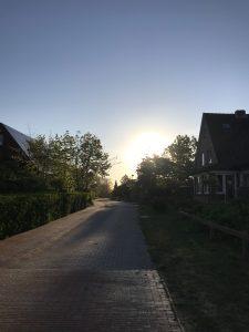 Baltrum am frühen Morgen