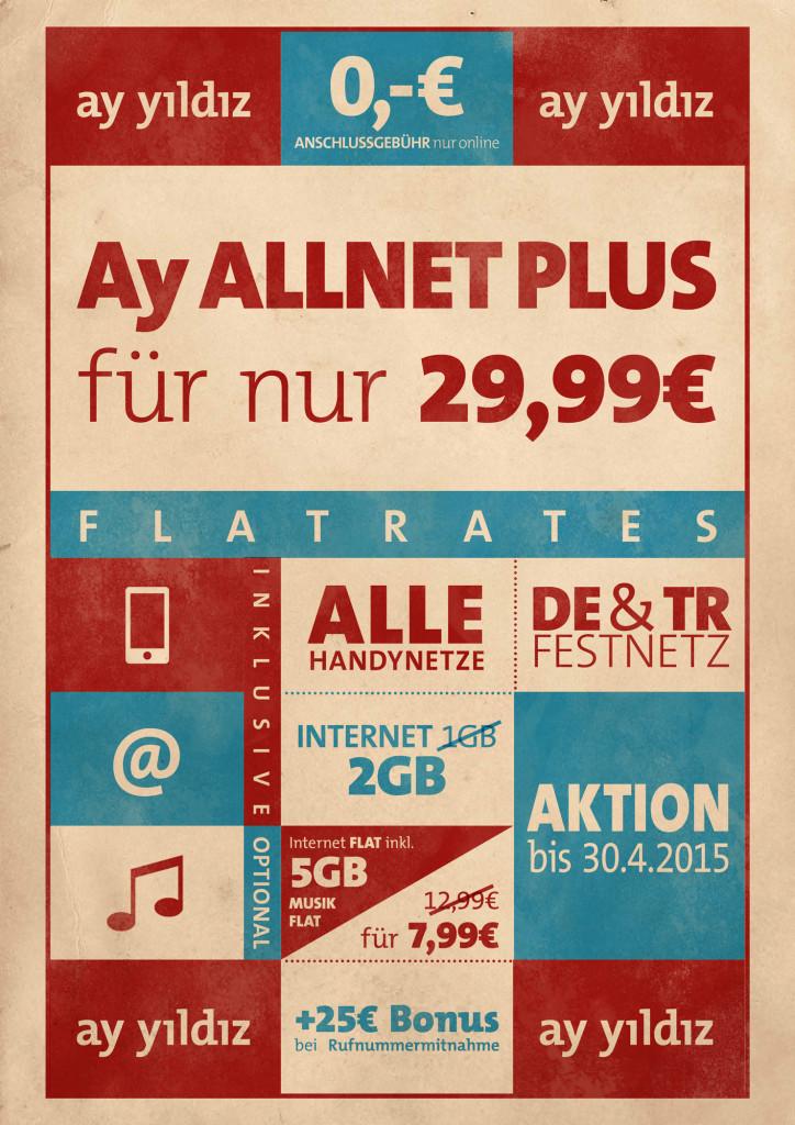 Infografik zur AY YILDIZ Allnet Flat Pro