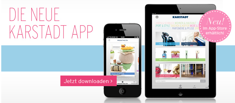 Karstadt iPhone App