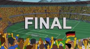 Simpsons WM-Finale 2014