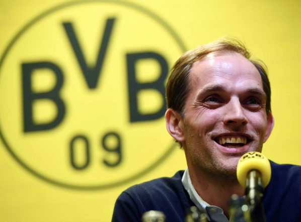 Quelle: http://sports.ndtv.com/football/news/243315-thomas-tuchel-takes-charge-of-borussia-dortmund-as-new-head-coach (c) AFP