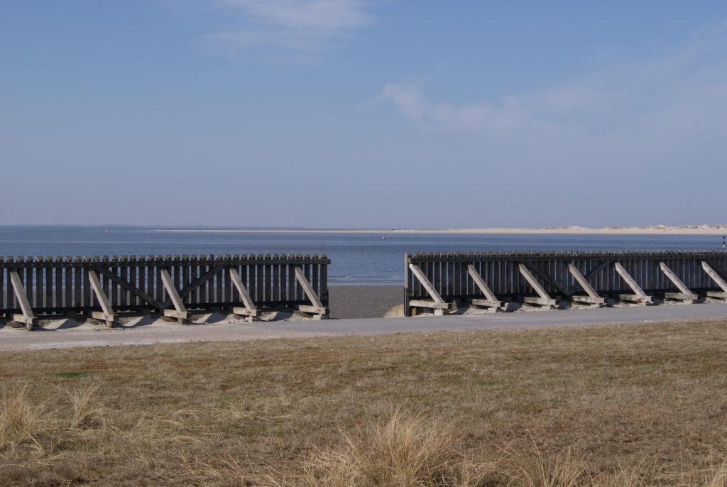 Blick nach Norderney