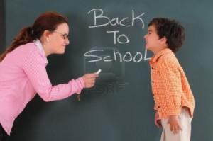Nachhilfelehrer mti Schüler