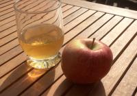 Rezept für Apfel Eistee