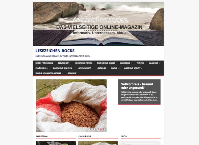 lesezeichen.rocks Magazin
